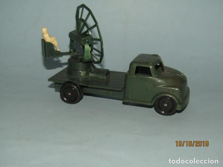 Figuras de Goma y PVC: Antiguo Camión Con Radar - Todo en Plástico Rígido Cristalino de MADEL - Foto 4 - 178936560