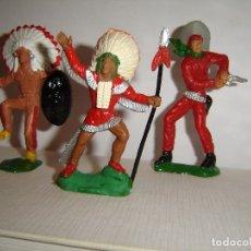 Figuras de Goma y PVC: INDIOS LAFREDO. Lote 178967118