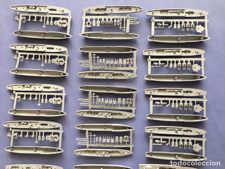 Figuras de Goma y PVC: LOTE MONTAPLEX 24 COLADAS DE BARCOS - Foto 2 - 178971233