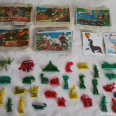 Figuras de Goma y PVC: LOTE SAFARI - SOBRES MONTAPLEX. Lote 178978201