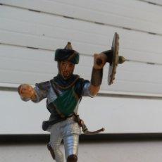 Figuras de Goma y PVC: FIGURA ÁRABE MEDIEVAL DE SCHLEICH.. Lote 179008488