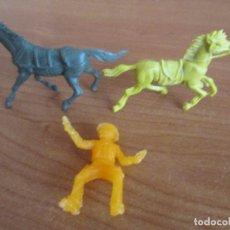Figuras de Goma y PVC: FIGURAS DEL OESTE ( PECH , JECSAN , REAMSA , TEIXIDO , OLIVER , COMANSI , ETC). Lote 179024751