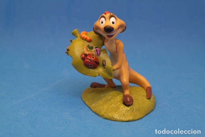Figuras de Goma y PVC: Figura de Timon. Divertido Personaje de la Película El Rey León. Disney - Foto 2 - 179073805