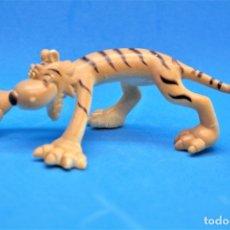 Figuras de Goma y PVC: FIGURA EN GOMA/PVC SERIE ANIMALES DE LA SELVA.- GOSNELL - OJOS SALTONES - TIGRE.. Lote 179089547
