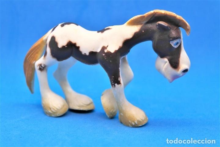 FIGURA EN GOMA/PVC SERIE ANIMALES DE LA GRANJA.- GOSNELL - OJOS SALTONES -CABALLO (Juguetes - Figuras de Goma y Pvc - Otras)