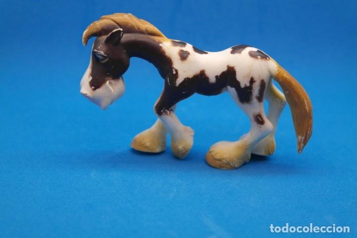 Figuras de Goma y PVC: Figura en Goma/Pvc Serie Animales de la Granja.- Gosnell - Ojos Saltones -Caballo - Foto 2 - 179091648