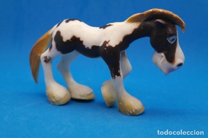 Figuras de Goma y PVC: Figura en Goma/Pvc Serie Animales de la Granja.- Gosnell - Ojos Saltones -Caballo - Foto 4 - 179091648