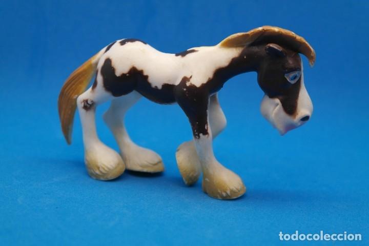 Figuras de Goma y PVC: Figura en Goma/Pvc Serie Animales de la Granja.- Gosnell - Ojos Saltones -Caballo - Foto 5 - 179091648