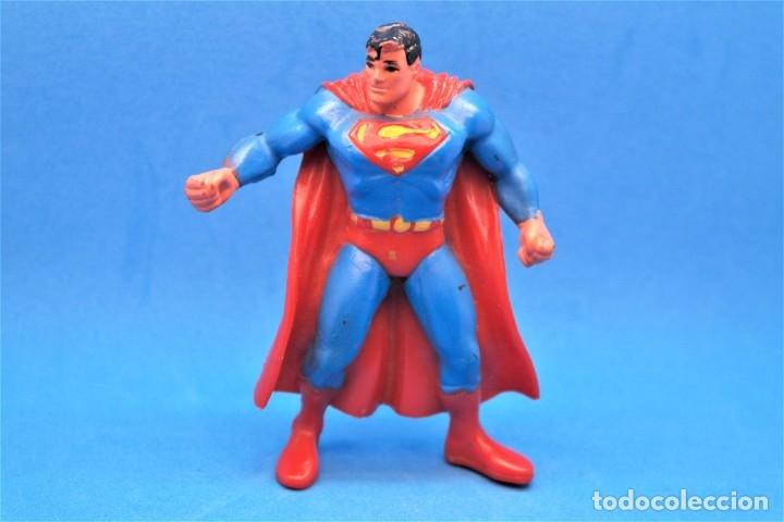 FIGURA PVC SUPERHEROES DC SUPERMAN COMICS SPAIN (Juguetes - Figuras de Goma y Pvc - Comics Spain)