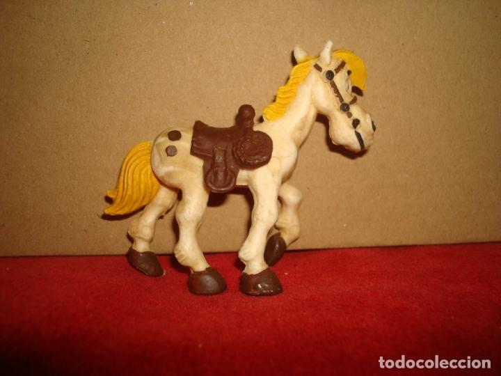 Figuras de Goma y PVC: CABALLO LUCKY LUKE COMANSI - Foto 2 - 179109436