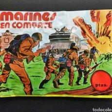 Figuras de Goma y PVC: SOBRE CERRADO MARINES EN COMBATE DE ALFREDO LOSADA TIPO MONTAPLEX. Lote 179117008