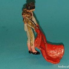 Figuras de Goma y PVC: TORERO EN GOMA DE TEIXIDO (TIPO JECSAN, REAMSA, PECH). Lote 179131997