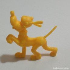 Figuras de Goma y PVC: FIGURA PLUTO PERRO DUNKIN MARCA SELLO RP MONOCROMATICO FIGURITA MUÑECO MINIATURA DISNEY ANTIGUA. Lote 179134868