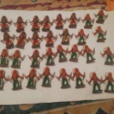 Figuras de Goma y PVC: LOTE 31 INDIO PLÁSTICO AÑOS 60 SOTORRES. Lote 179155873