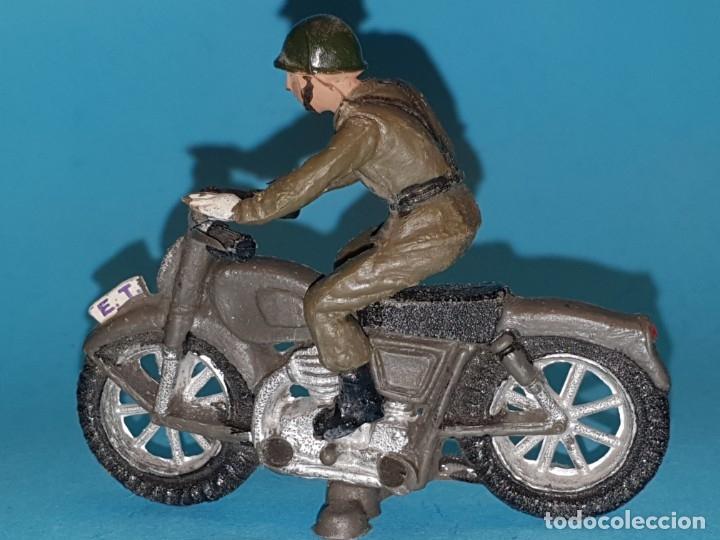 Figuras de Goma y PVC: Moto de TEIXIDO (tipo JECSAN, REAMSA, PECH) - Foto 2 - 179162581