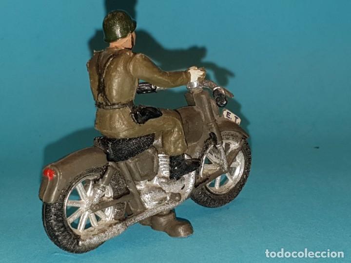 Figuras de Goma y PVC: Moto de TEIXIDO (tipo JECSAN, REAMSA, PECH) - Foto 3 - 179162581