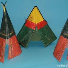 Figuras de Goma y PVC: TIPIS DE PECH, EN CUERO (TIPO REAMSA, JECSAN). Lote 179166388