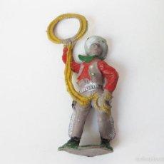 Figuras de Goma y PVC: FIGURA DE PLÁSTICO DEL OESTE - INDIOS Y VAQUEROS. Lote 179189646