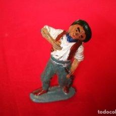 Figuras de Goma y PVC: FIGURA VAQUERO PECH. Lote 179191068