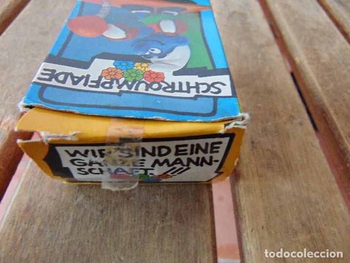 Figuras de Goma y PVC: MUÑECO FIGURA PITUFO DE SCHLEICH BOXEADOR EN SU CAJA ORIGINAL - Foto 5 - 179191462