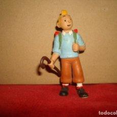 Figuras de Goma y PVC: TINTIN EN RUTA COMIC SPAIN GOMA PVC 7.50 CM. Lote 179199736