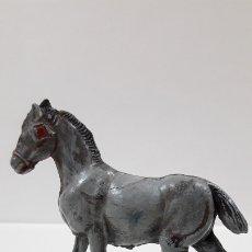 Figuras de Goma y PVC: MULA DE CARGA . REALIZADO POSIBLEMENTE POR PECH . AÑOS 50 EN GOMA. Lote 179375900
