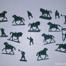 Figuras de Goma y PVC: LOTE 2 MONTAPLEX SERJAN ORIGINAL AÑOS 60/70 EN MUY BUEN ESTADO. Lote 179530202