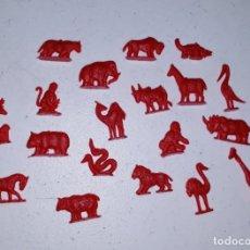 Figuras de Goma y PVC: LOTE 3 MONTAPLEX SERJAN ORIGINAL AÑOS 60/70 EN MUY BUEN ESTADO. Lote 179530252