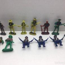 Figuras de Goma y PVC: 12 FIGURAS - SOLDADITOS | PECH, JECSAN, REAMSA, TEIXIDO, OLIVER, COMANSI. Lote 179530267