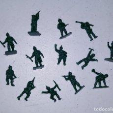 Figuras de Goma y PVC: LOTE 4 MONTAPLEX SERJAN ORIGINAL AÑOS 60/70 EN MUY BUEN ESTADO. Lote 179530305