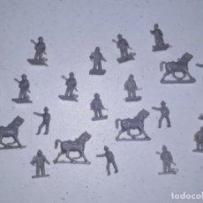 Figuras de Goma y PVC: LOTE 5 MONTAPLEX SERJAN ORIGINAL AÑOS 60/70 EN MUY BUEN ESTADO. Lote 179530365