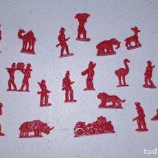 Figuras de Goma y PVC: LOTE 6 MONTAPLEX SERJAN ORIGINAL AÑOS 60/70 EN MUY BUEN ESTADO. Lote 179530398