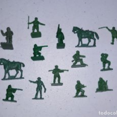 Figuras de Goma y PVC: LOTE 7 MONTAPLEX SERJAN ORIGINAL AÑOS 60/70 EN MUY BUEN ESTADO. Lote 179530467