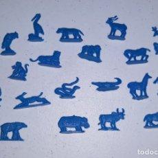 Figuras de Goma y PVC: LOTE 8 MONTAPLEX SERJAN ORIGINAL AÑOS 60/70 EN MUY BUEN ESTADO. Lote 179530507