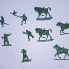 Figuras de Goma y PVC: LOTE 9 MONTAPLEX SERJAN ORIGINAL AÑOS 60/70 EN MUY BUEN ESTADO. Lote 179530537