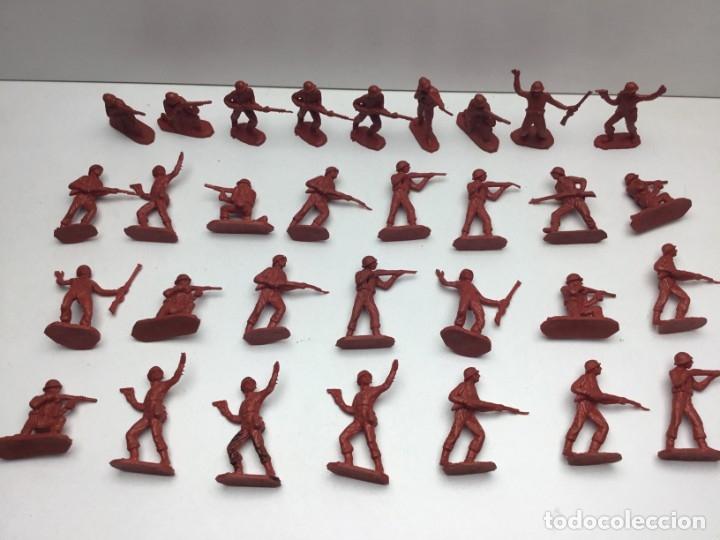 31 FIGURAS - SOLDADITOS | PECH, JECSAN, REAMSA, TEIXIDO, OLIVER, COMANSI - AÑOS 70 (Juguetes - Figuras de Goma y Pvc - Otras)