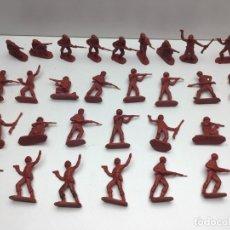 Figuras de Goma y PVC: 31 FIGURAS - SOLDADITOS | PECH, JECSAN, REAMSA, TEIXIDO, OLIVER, COMANSI - AÑOS 70. Lote 179530895