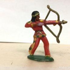 Figuras de Goma y PVC: RARO INDIO MICHEL STARLUX AÑOS 50/60 NO PECH REAMSA JECSAN COMANSI LAFREDO. Lote 179537636