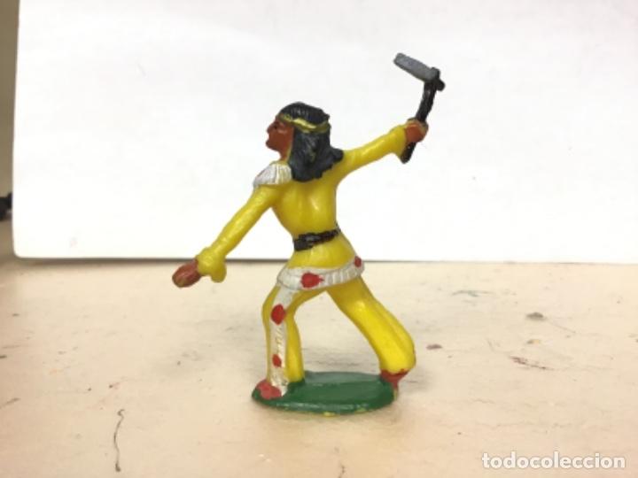 Figuras de Goma y PVC: RARO INDIO MICHEL STARLUX AÑOS 50/60 No Pech Reamsa Jecsan Comansi Lafredo - Foto 3 - 179537845