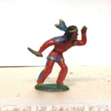 Figuras de Goma y PVC: RARO INDIO MICHEL STARLUX AÑOS 50/60 NO PECH REAMSA JECSAN COMANSI LAFREDO. Lote 179538110