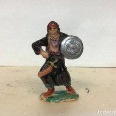 Figuras de Goma y PVC: FIGURA SARRAZENO ARABE JECSAN SARRACENO MUSULMAN BEN YUSUF CRUZADOS NO PECH REAMSA . Lote 180033725