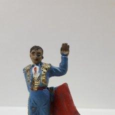 Figuras de Goma y PVC: TORERO . REALIZADO POR PECH . AÑOS 60. Lote 180037967