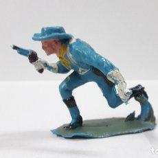 Figuras de Goma y PVC: SOLDADO FEDERAL YANKEE . REALIZADO POR PECH . AÑOS 60. Lote 180127478