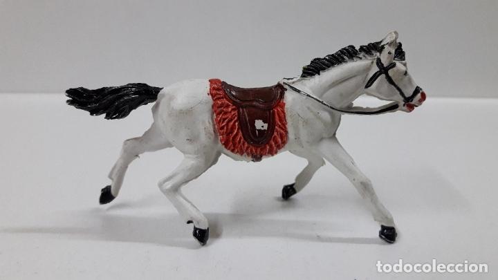 Figuras de Goma y PVC: CABALLO PARA VAQUERO - COWBOY . REALIZADO POR PECH . AÑOS 50 EN GOMA - Foto 2 - 180130427