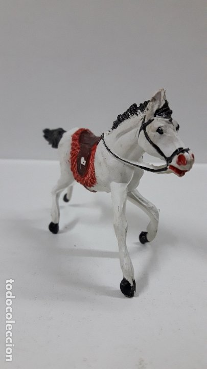 Figuras de Goma y PVC: CABALLO PARA VAQUERO - COWBOY . REALIZADO POR PECH . AÑOS 50 EN GOMA - Foto 4 - 180130427
