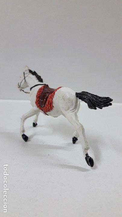 Figuras de Goma y PVC: CABALLO PARA VAQUERO - COWBOY . REALIZADO POR PECH . AÑOS 50 EN GOMA - Foto 5 - 180130427
