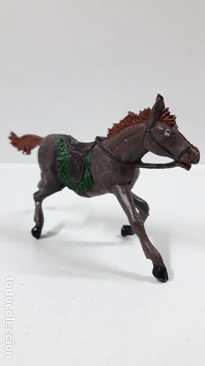 Figuras de Goma y PVC: CABALLO PARA VAQUERO - COWBOY . REALIZADO POR PECH . AÑOS 50 EN GOMA - Foto 3 - 180130452