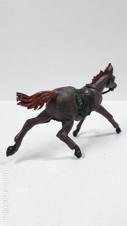 Figuras de Goma y PVC: CABALLO PARA VAQUERO - COWBOY . REALIZADO POR PECH . AÑOS 50 EN GOMA - Foto 5 - 180130452