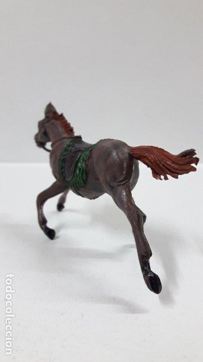 Figuras de Goma y PVC: CABALLO PARA VAQUERO - COWBOY . REALIZADO POR PECH . AÑOS 50 EN GOMA - Foto 6 - 180130452