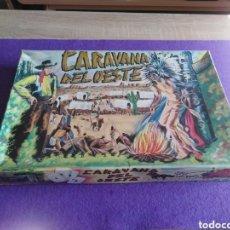 Figuras de Goma y PVC: CARAVANA DEL OESTE DE MANUEL TORRES SOTORRES.. Lote 180162447